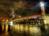 Trey Ratcliff - The river that ran through Lyon at Midnight