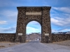 Yellowstone National Park Entrance Arch, MT