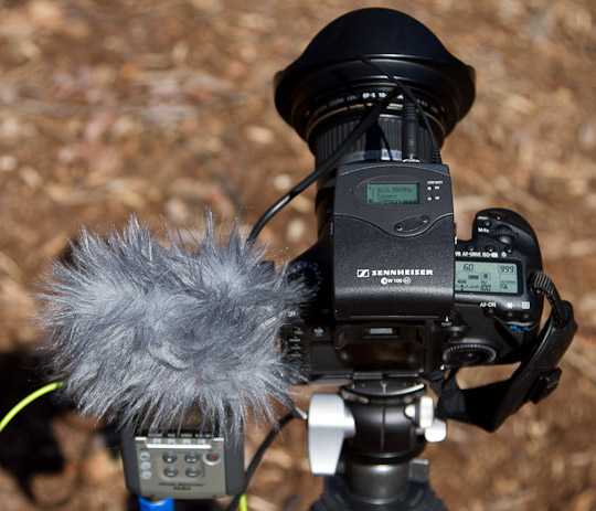 Recording audio with your video DSLR, Part I | The Digital Photo