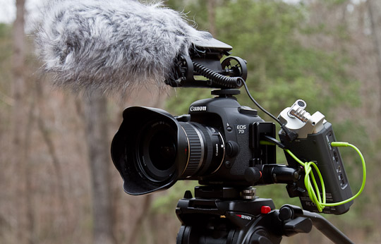 Recording Audio With Your Video Dslr Part Ii The Digital Photo