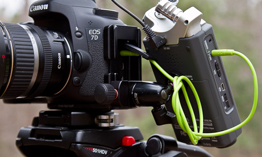 Recording Audio With Your Video Dslr Part Ii The
